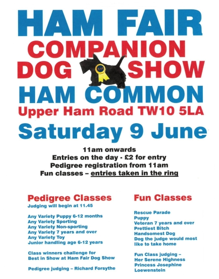 Ham Fair Companion Dog Show 2018 Final