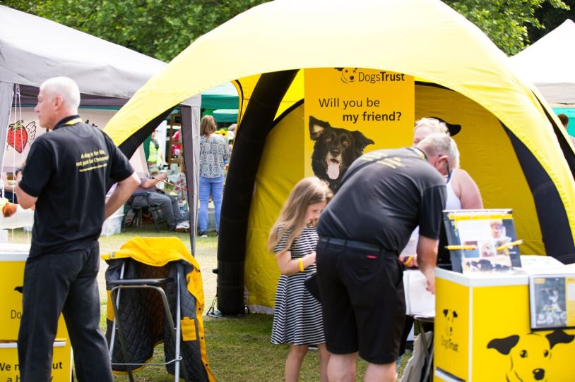 Dogs Trust stall