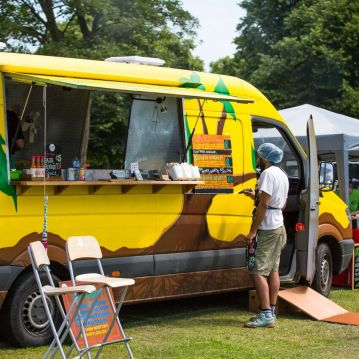 En Root food van