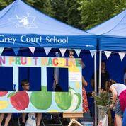 Grey Court School stall