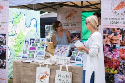 Ham Parade Market stall