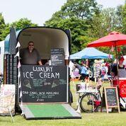 Ice cream horse box